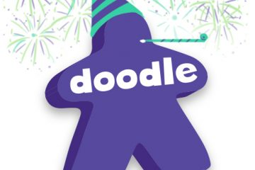 Celebrating the launch of DoodleMeeple, a new way to make a board game