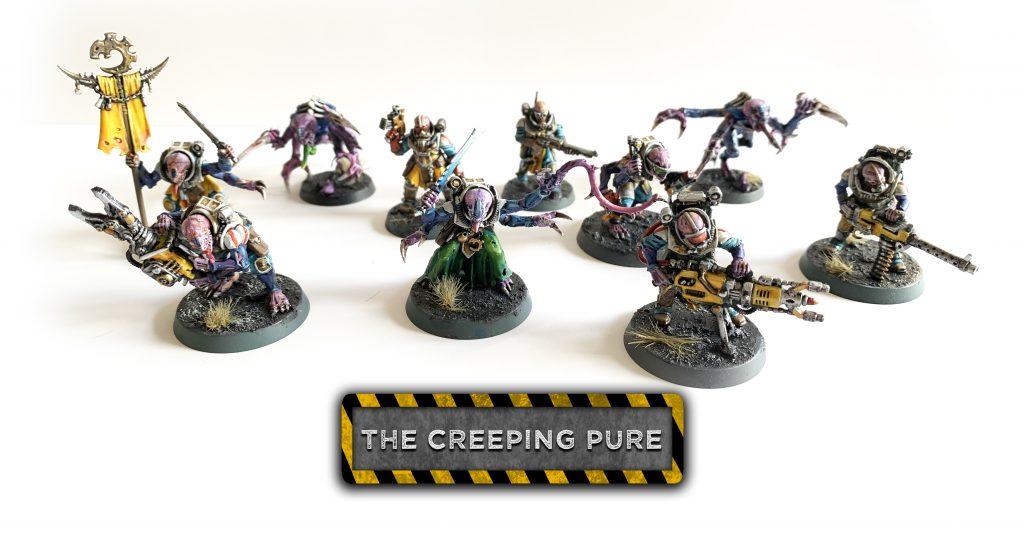 Jamie's Genestealer Cults Kill Team, Warhammer 40k